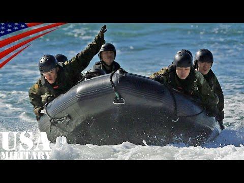 陸上自衛隊・離島奪還訓練(ゴムボート) アイアン・フィスト2016 - Japan Ground Self-Defense Force CRRC Training