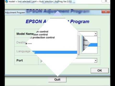 Adjustment Program Epson L1800