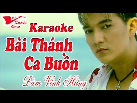 Karaoke Bai Thanh Ca Buon Dam Vinh Hung