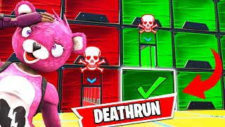 This Troll Deathrun was crazy! (+ HIDDEN SECRET LEVEL!) - Fortnite Troll Deathrun