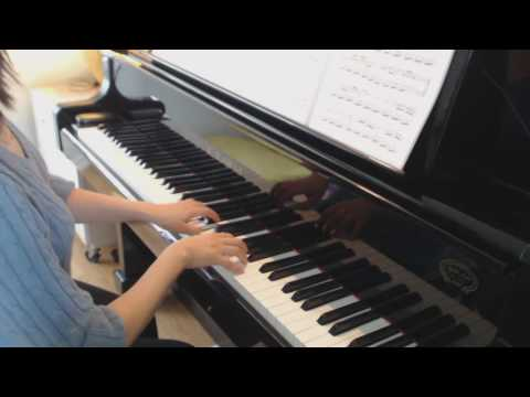 Piano Practice - Mozart K. 545 first movement, at 88 BPM - Mae Leong