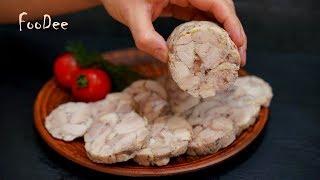 Нет магазинной колбасе - 99% мяса БЕЗ желатина и оболочки! Куриная колбаса домашняя