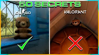 50 SECRETS / EASTER EGGS IN CS:GO