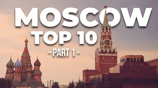 MOSCOW TOURIST ATTRACTIONS #1: best things to do in Moscow, Russia (subtitled)