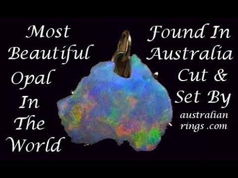 A Beautiful Opal Treasure, Opal the National stone of Australia