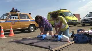 видео Волгоградские и астраханские госавтоинспекторы провели акцию «Сохрани жизнь»
