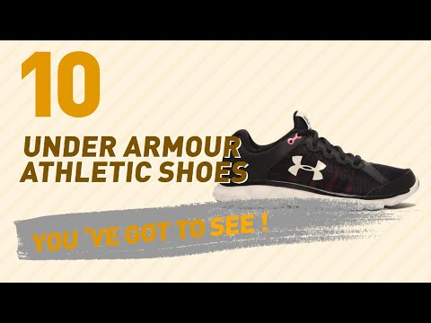 Under Armour Athletic Shoes // New & Popular 2017