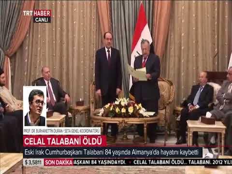 Öğretim Üyemiz Burhanettin Duran, TRT Haber,