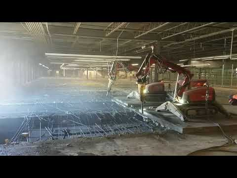 Mezzanine Demolition