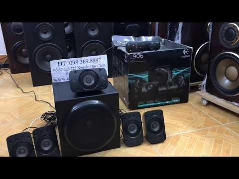 Âm Thanh Bãi Rồi Cũng Quan Tâm đến Hàng đời Mới Chứ Bộ Logitech Z906 Full Options Thắng Audio