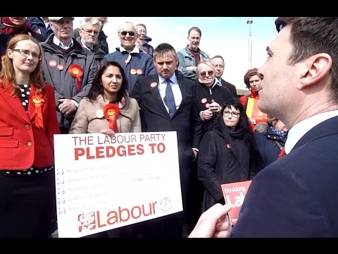 Andy Burnham Supporting Amina Lone And Cat Smith