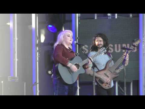 Elle King at Jimmy Kimmel Live in Hollywood