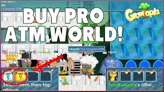 Growtopia - Buy PRO ATM World For 11 450 Wls!