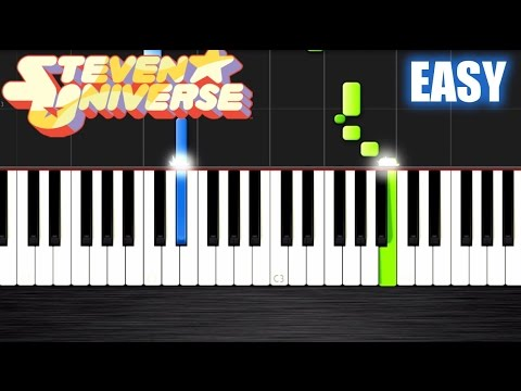 Steven Universe Theme - EASY Piano Tutorial by PlutaX - Synthesia ...