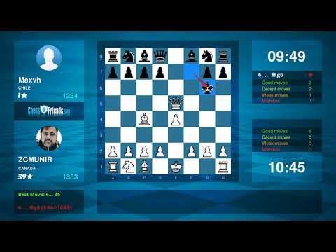 Chess Game Analysis: ZCMUNIR - Maxvh : 1-0 (By ChessFriends.com)