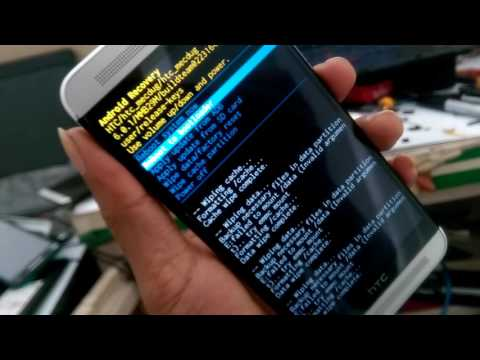 Htc one e8 cannot factory reset