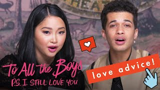 Lana Condor & Jordan Fisher Talk On-Screen Kissing 💋on the Set of 'To All the Boys: 2'