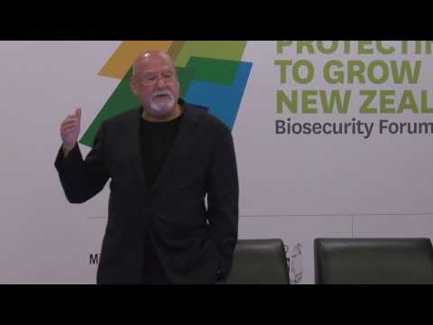 Session 4 - Leadership for Better Biosecurity: Sir Ray Avery, Leading through innovation and science