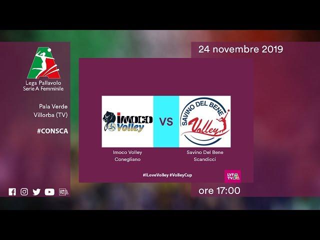 Conegliano - Scandicci | Speciale | 8^ Giornata | Lega Volley Femminile 2019/20