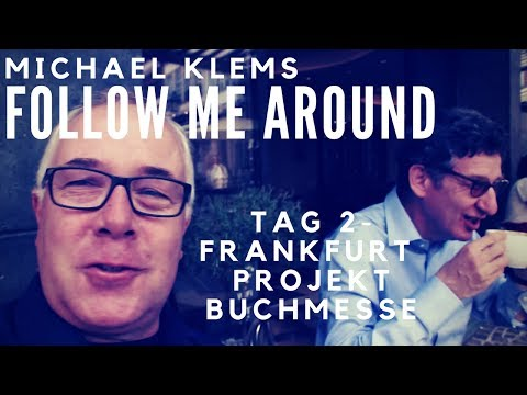 Tage eines Information Professionals: Follow Me in Frankfurt Tag 2 // Michael Klems