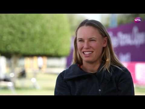 2018 Qatar Total Open Pre-Tournament Interview | Caroline Wozniacki
