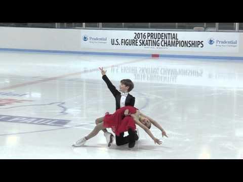 Katarina Wolfkostin & John Carlson - American Waltz - 2016 U.S. National Championships