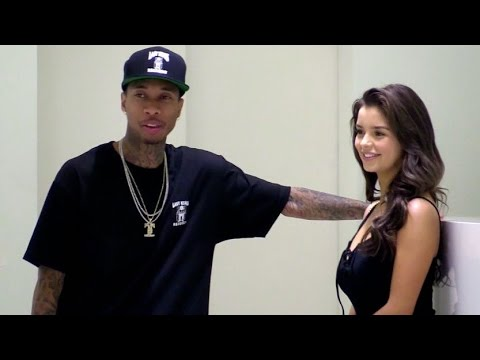 EXCLUSIVE: Tyga and new girlfriend Demi Rose enjoying themselves in Cannes