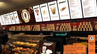 Digital Signage for QSRs (Quick Service Restaurants) - YCD