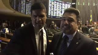 CABO DACIOLO E MARCO FELICIANO BRIGAM NA CÂMARA DOS DEPUTADOS thumbnail