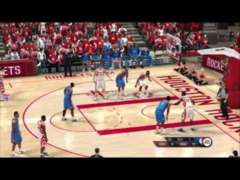 NBA Live 10 - 2014 Rockets vs Thunder First Half