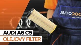 Ako vymeniť olej a olejový filter na AUDI A6 C5 [NÁVOD]