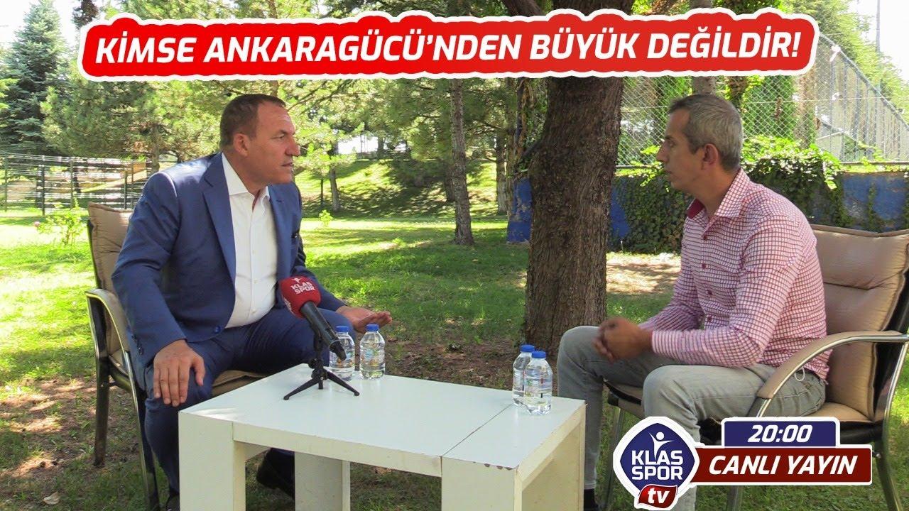 Ankaragücü Başkanı  Faruk KOCA'dan Klasspor TV'ye Özel açıklamalar. Canlı ᴴᴰ
