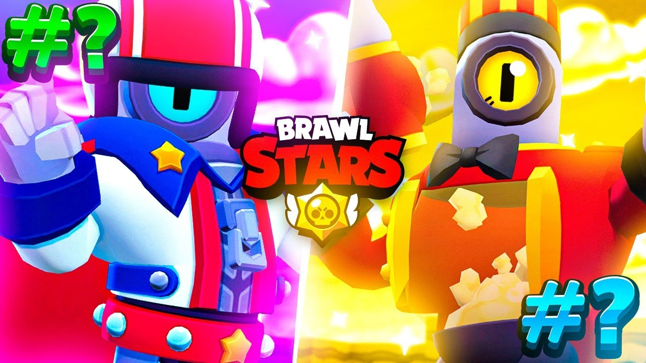 *NEW* BEST 5 BRAWLERS in BRAWL STARS (JULY 21)