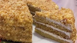 Медовый торт Готовлю каждый день