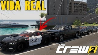 MIAMI ATE NOVA YORK - FIZ ESCOLTA ARMADA DO GETAWAY, MAICOSOFT & O LEITE QUENTE - THE CREW 2 BETA