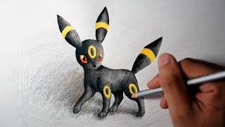 Eeveelutions - Umbreon Drawing (Shin Art)