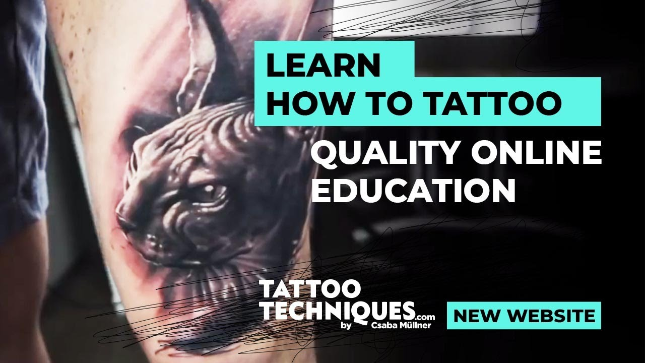 Online tattoo techniques by csaba mullner promo3 youtube for Tattoo classes online free