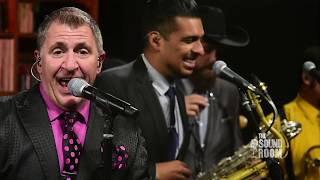 Gambar cover The Sound Room featuring Louis Prima Jr. and the Witnesses