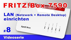 FRITZ!Box 7590 LAN Netzwerk einrichten, IP Adresse ändern und Portfreigabe #8