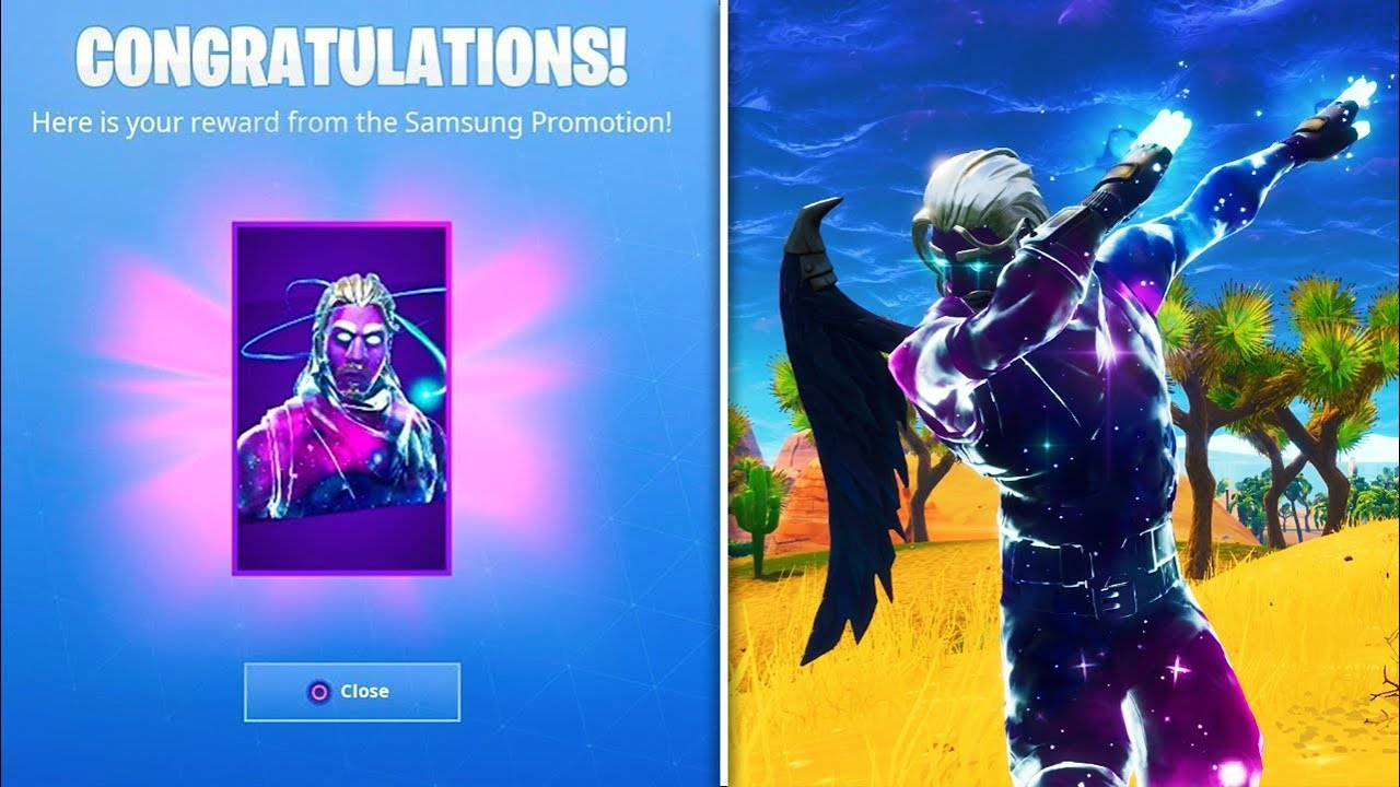 How to easily get the galaxy skin in fortnite fortnite battle royale galaxy skin unlocked - Fortnite galaxy skin free ...