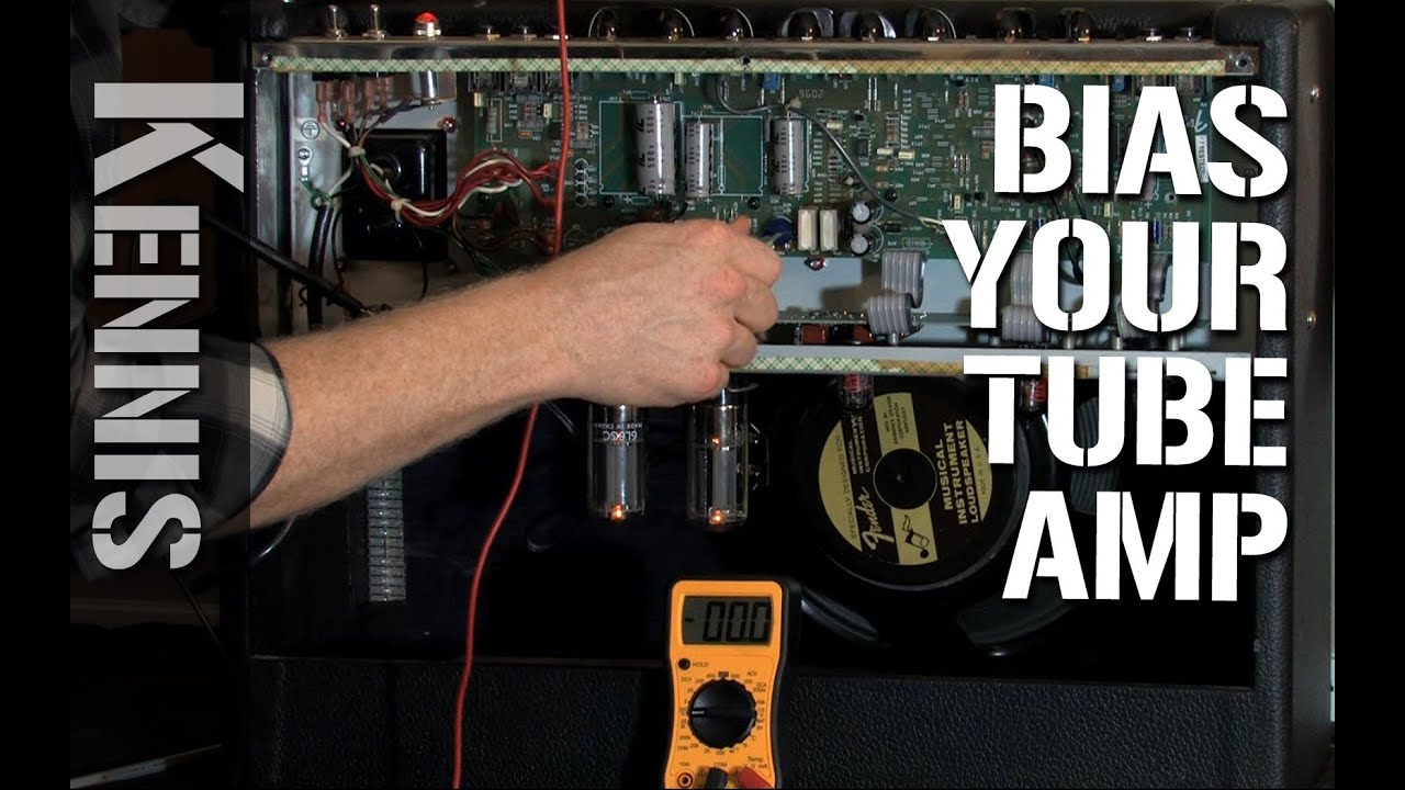 how to bias your guitar tube amp [ 1280 x 720 Pixel ]