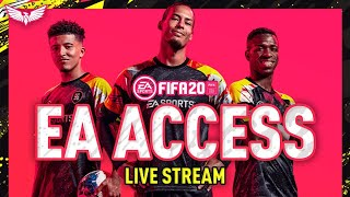 *LIVE* FIFA 20 PACK OPENING & DRAFT TO GLORY BEGINS!!! PLAYING EA ACCESS FIFA 20!!!