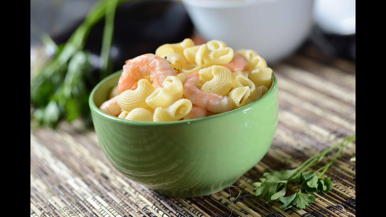 Pasta de coditos con camarones como cocinar youtube - 100 maneras de cocinar pasta ...