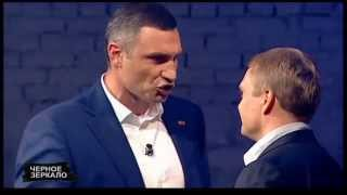 Мэр Киева Виталий Кличко не смог ответить на вопросы Александра Пузанова во время теледебатов.