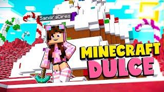 MINECRAFT pero TODO es DULCE 😋 Minecraft Piñata Party 😱 Sandra Cires Play