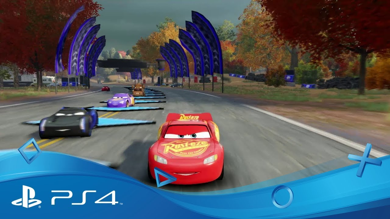 cars 3 course vers la victoire trailer de gameplay disponible ps4 youtube. Black Bedroom Furniture Sets. Home Design Ideas