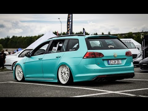 VW GOLF 7 R VARIANT BAGGED TUNING PROJECT🔧