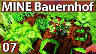MINE Bauernhof #7 ► GARTENBAU ► Lets Play Minecraft Life In The Woods