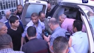 الجهات المعنية تتسلم جثمان الشهيد الكسجي من سلطات الاحتلال