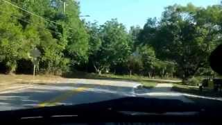 Driving around Ocoee, Florida